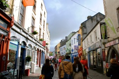 The main street in Galway