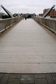 Troll Bridge in South Dublin