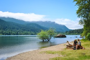 Rattlesnake Lake, July 2017